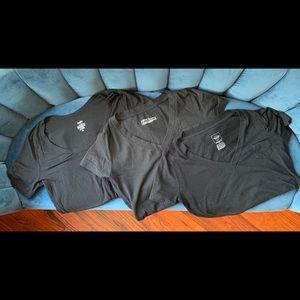 3 Black Short Sleeve Mossimo Supply Co T Shirts